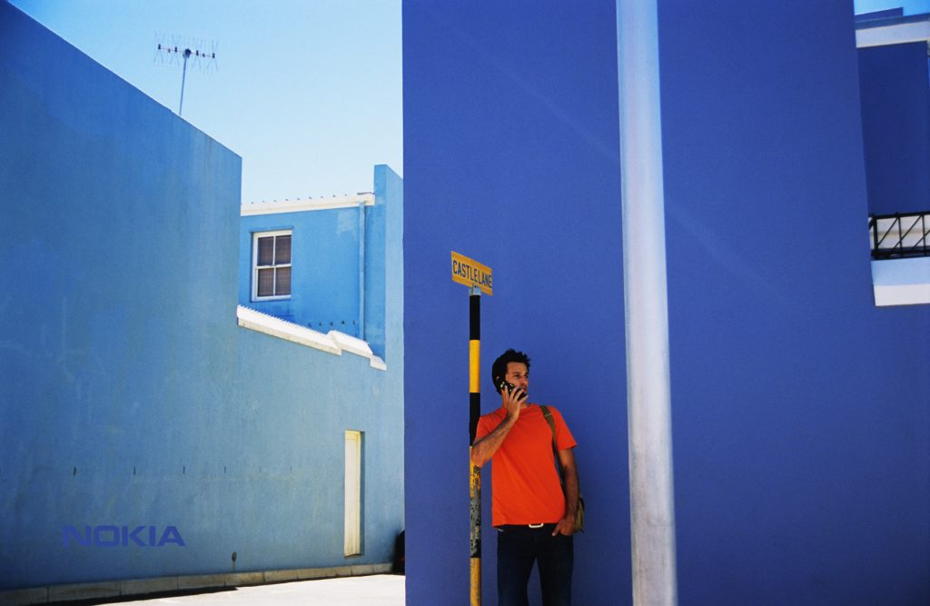 Nokia-Blue wall