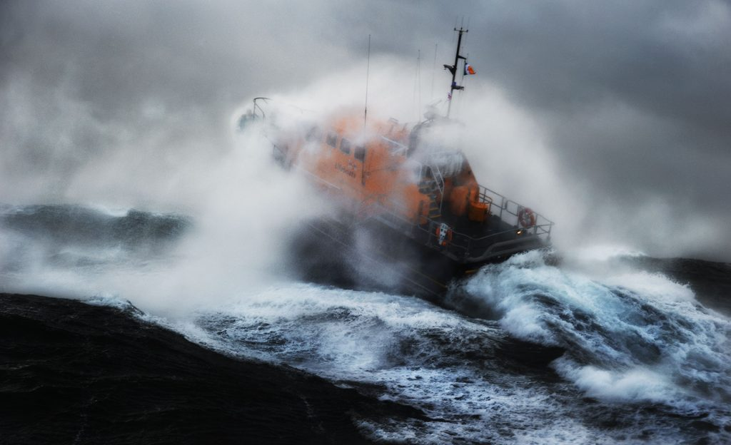 Kilmore Quay Lifeboat RNLI Rough Weather photography