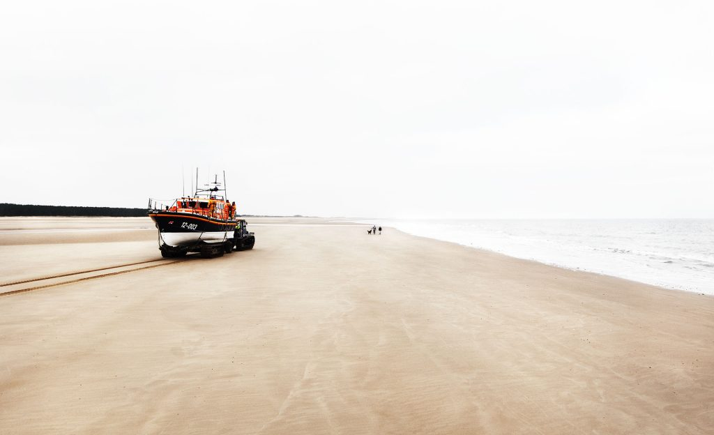RNI Courage on our Coasts Wells Lifeboat