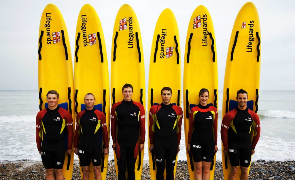 Lifeguard Line Up Cromer