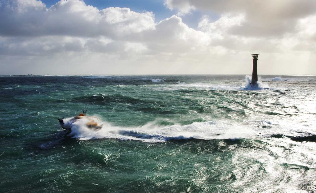 Scilly Isles Lifeboat Helicopter Rescue