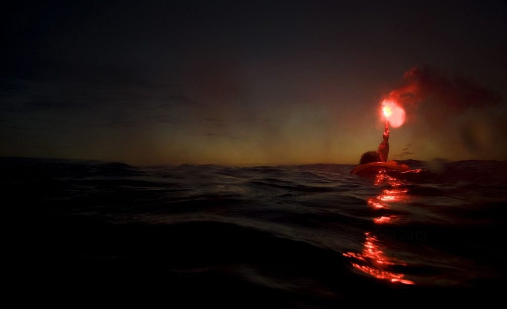 Flare Saving Lives At Sea night